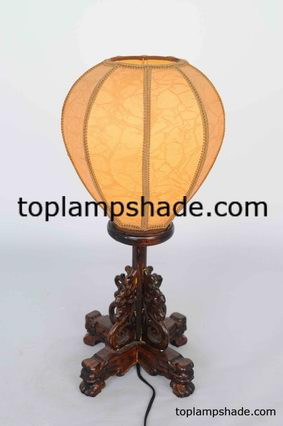 globe fabric table lamp shade-LS1892