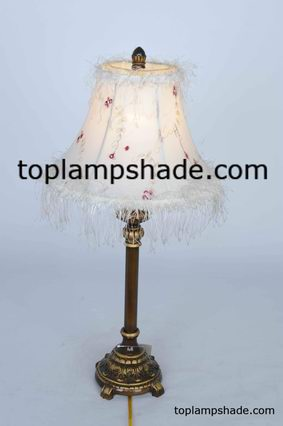 empire bell fabric table lamp shade-LS1927