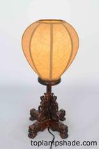Globe Fabric Table Lamp Shade